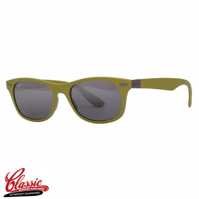 99ce5bca31f Ray Ban Rb4207 609988 Wayfarer Liteforce Sunglasses Green Grey Gradient 52mm