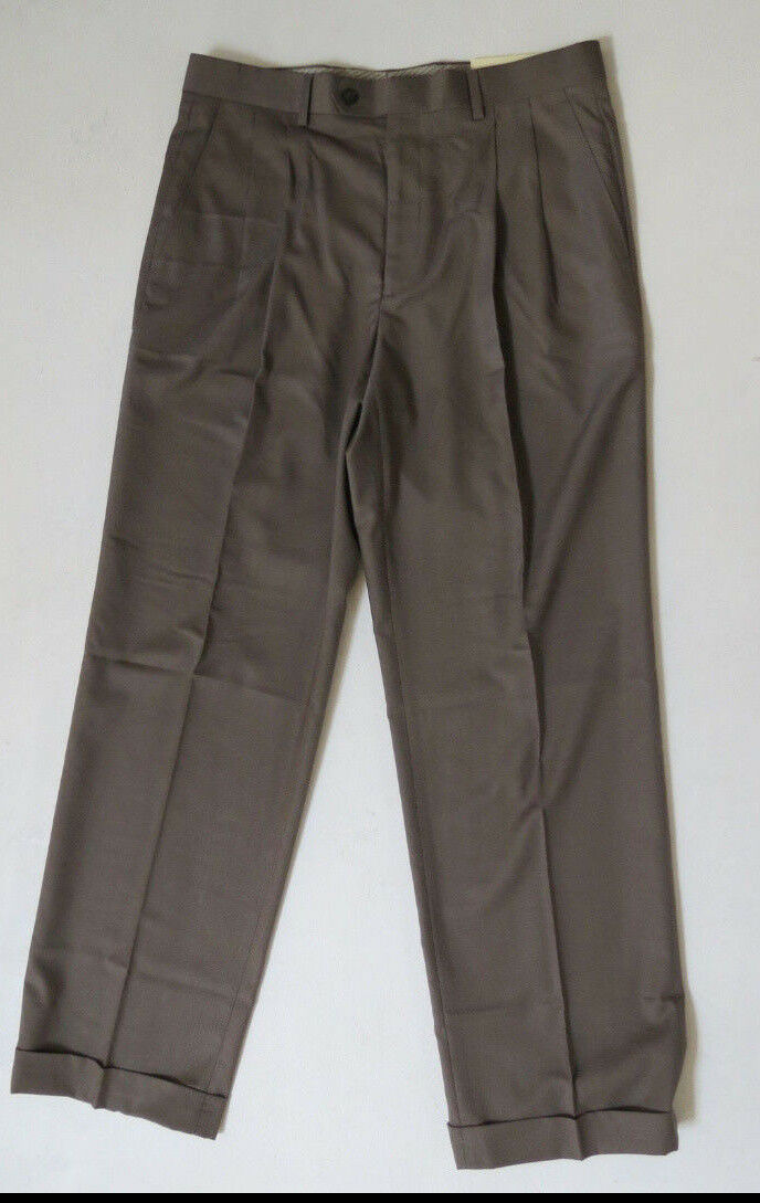Polo Ralph Lauren Dress Pants Olive Authentic Brand New with Tags 40 W X 30