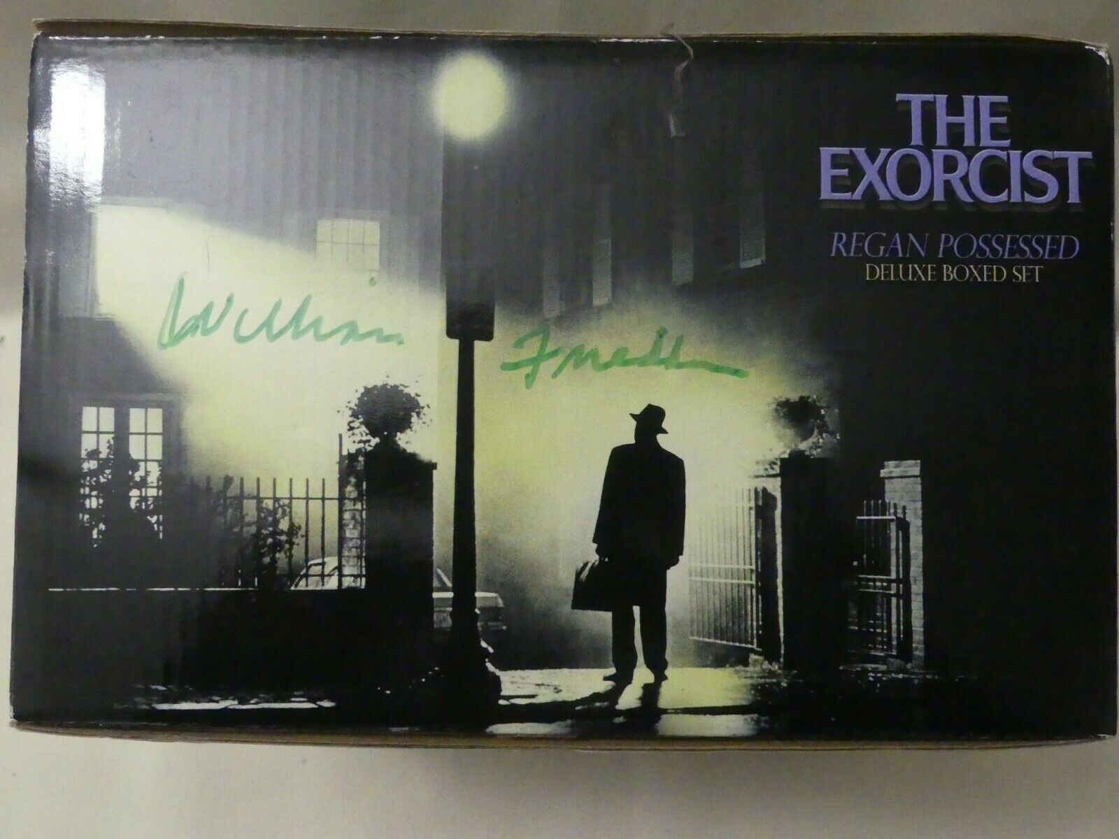 Autographed The Exorcist Regan Possessed by Williamd Friedkin