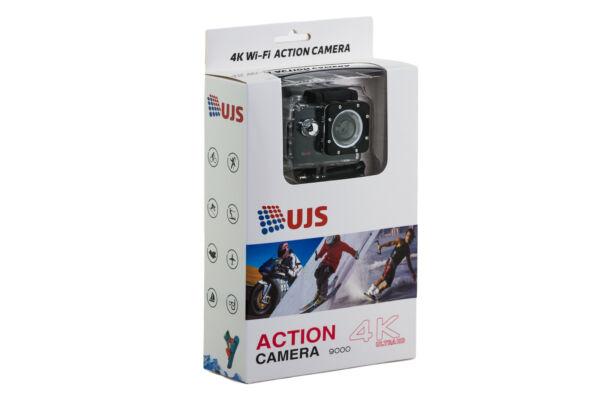 """4k Action Sports Caméra Cardan 9000, 2"""" écran + Wifi Marchandises De Proximité"""