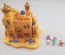 Vintage Polly Pocket Bluebird 1995 Disney Aladdin Agrabah Marketplace Complete