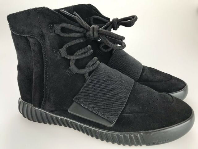 96cfa0ddb Adidas Yeezy Boost 750 Triple Black Men s Size 12 US 10 2015 Zipper Strap  Shoes