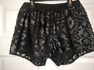 donna taglia neri Small Analili Pantaloncini da S qFOytFH6