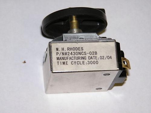 MH RHODES 30 MIN TIMER SWITCH P//N 2430NCS-02B