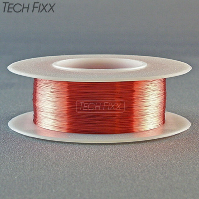 Magnet wire 35 gauge awg enameled copper 1240 feet coil winding red magnet wire 35 gauge awg enameled copper 1240 feet coil winding red greentooth Choice Image