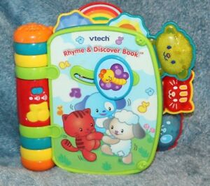 VTech-Rhyme-amp-Discover-Book