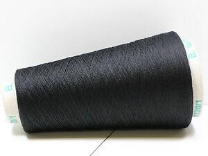 R11-169-90-kg-100g-100-REINE-SEIDE-PURE-SILK-SCHWARZ-120-2-2-Zwirn-Wolle