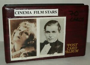 70-Cinema-Film-Star-Postcards-Cased-Betty-Gable-Lucille-Ball-Clark-Gable