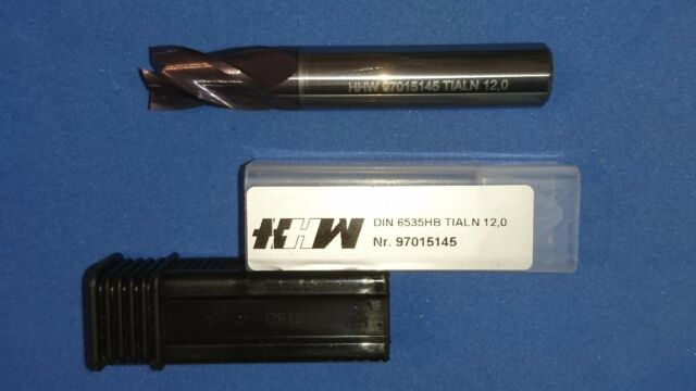 VHM-Schaftfräser Ø3-16mm HHW Z=4/3 HA/HB  VHM-TiAlN VHM-Fräser NEU