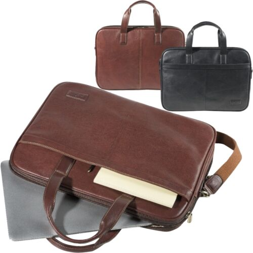 TONY PEROTTI Bürotasche Leder Messenger Bag Aktentasche Business Schultertasche