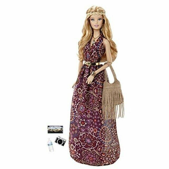 NRFB Barbie LOOK Music Festival Boho Doll Black Label Aphrodite