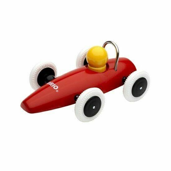 BRIO Classic Wooden F1 Race Racing Car 30077 Orange Formula One for sale online | eBay