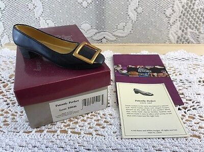 RAINE Just the Right Shoe PATENTLY PERFECT mib 25046