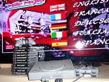 SONY PLAYSTATION 1 PS1 CONSOLE +BITS +11 RACE RACING GAMES BUNDLE street moto ++