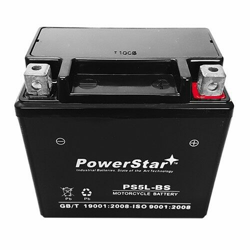 NEW Replacement YTX5L-BS battery for 2002-01/' HUSABERG FC550 Motorcycle//Scooter