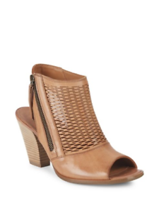 Paul Green Women's Shoes Willow Leather Open Toe High Heel Booties 8.5 M  $349