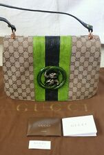 GUCCI GENUINE CROCODILE & CANVAS TOM FORD BAG - Authentic, Limited Ed, Pre-owned