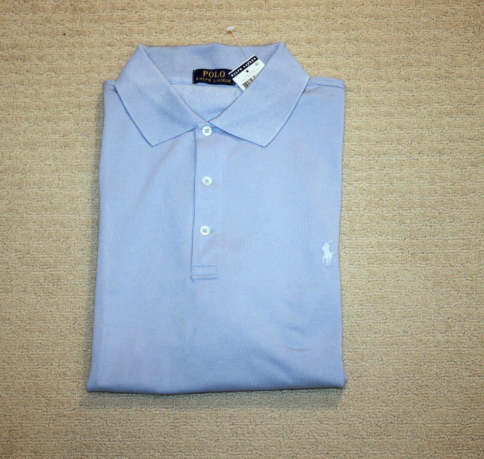 NEW Polo Ralph Lauren Big and Tall Pony Logo Classic Fit bluee Shirt