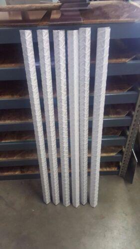 "1//8/"" Aluminum Diamond Plate Angle Corner Guards 1 1//2/"" x 1 1//2/"" x 48/"" SET OF 6"