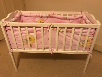 wholesale dealer d680b 897c0 toys r us cot with mattress, mattress cover along with bumpers, duvet with  cover   eBay