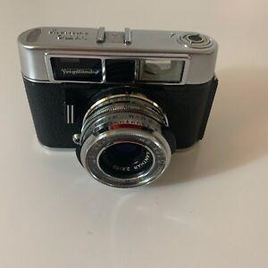 Voigtlaender-Vito-automatic-II-Rangefinder-Kamera-50mm-f2-8-Ledertasche