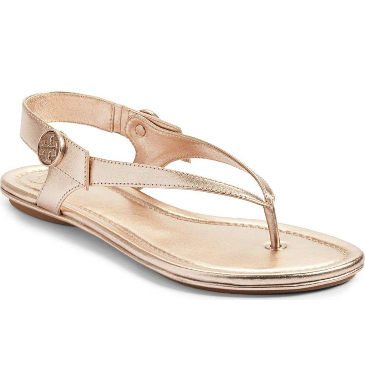 Gentlemen/Ladies Tory Sandal Burch Minnie Leather Travel Sandal Tory New market Stylish and fun Fine wild 1ef084