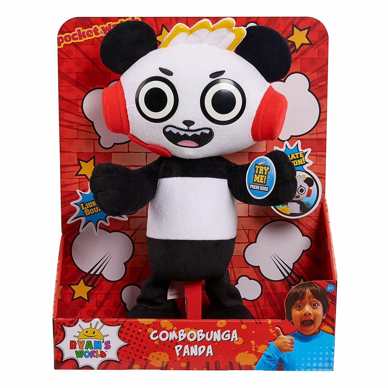 Ryan värld - Combobunga Panda con Luci, Suoni & Azione NuovoName
