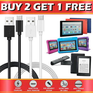 For Amazon Kindle Fire HD Tablet TV Stick Echo USB Sync Charger Charging Cable