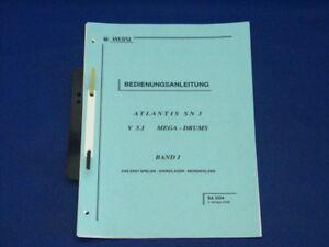 Wersi-Atlantis-Manual-SN3-Band-3-Megadrums