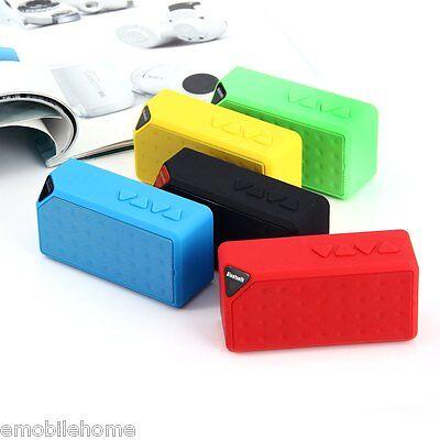 Wireless Mini Bluetooth V2.1Portable Speaker for Mobile-phone TF Card 5 Colours