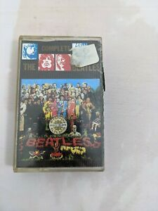 The Beatles – Sgt. Pepper's Lonely Hearts Club Band EMI – PCS7027 Cassette tape