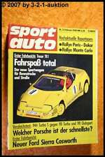 Sport Auto 2/88 Treser TR 1 Porsche 944 Sierra Cosworth