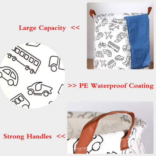 Laundry Bin Large Foldable Washing Clothes Basket Bags Storage Hamper Small XL