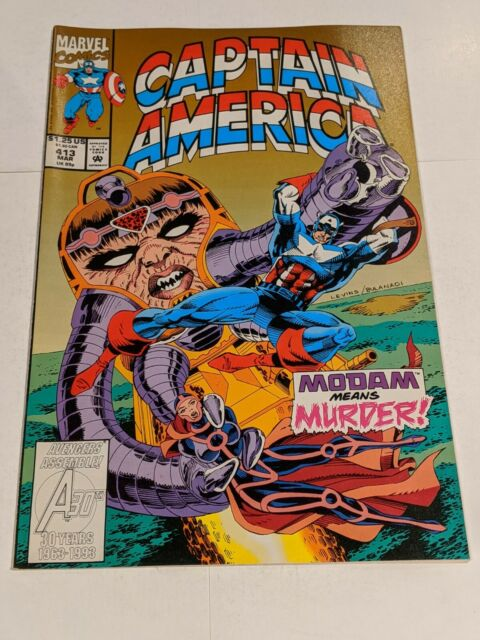 Captain America #413 March 1993 Marvel Comics