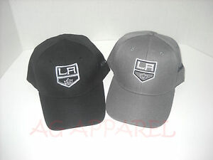 Los-Angeles-LA-Kings-Hat-Cap-One-Size-Adjustable-Pick-Your-Style-Great-Look-New