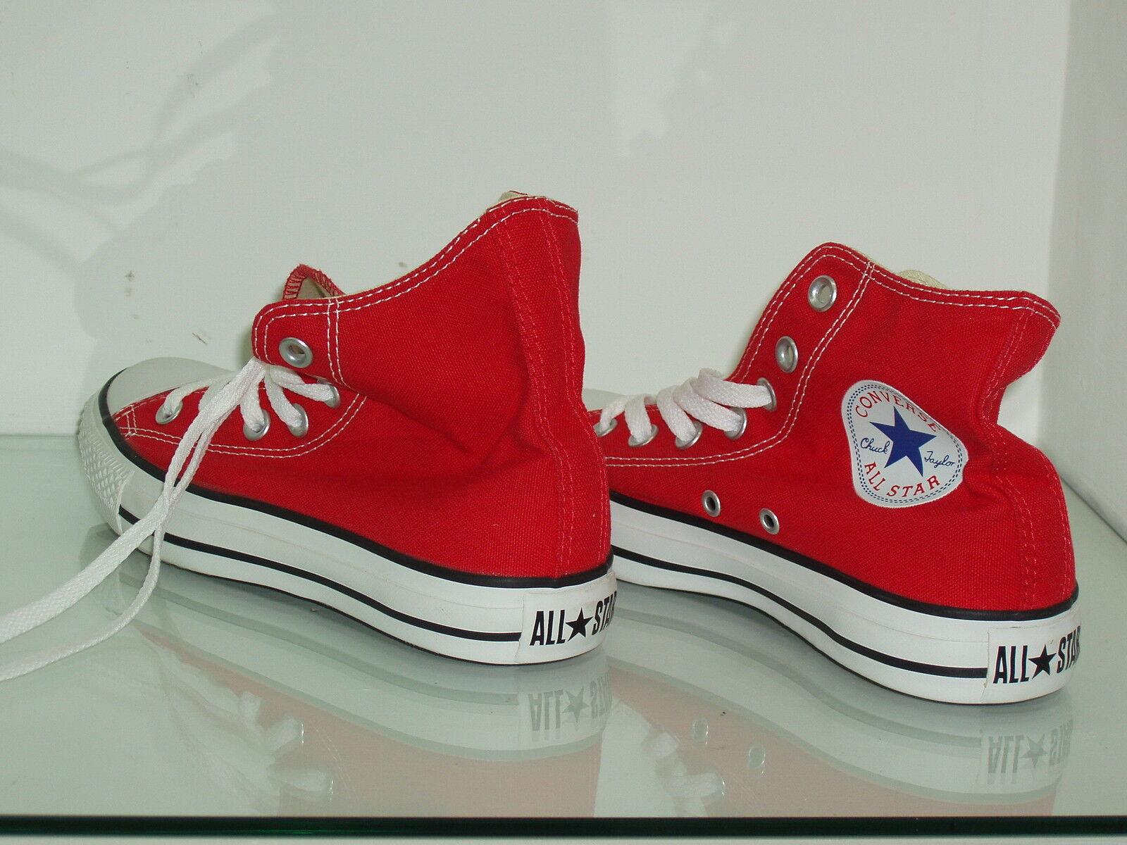 Scarpe casual da uomo  scarpe converse all star HI  uomo - donna  rosso red