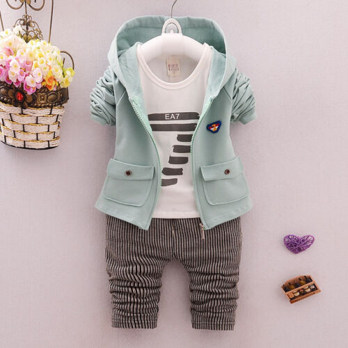 DIIMUU Kids Kid Baby Toddler Boy Outfit Boys Clothes Clothing Suits Outfits Sets