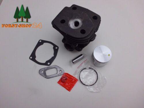 Zylinder Zylinderkit Zylindersatz Kolben passend Husqvarna 359 47mm mit Dekobohr