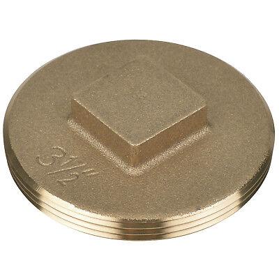 Cleanout Plug,3.5 In,Brass OATEY 42373