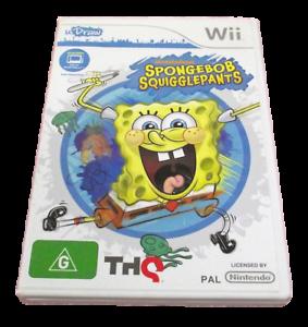 U-Draw-Spongebob-Squigglepants-Nintendo-Wii-PAL-Complete-Wii-U-Compatible
