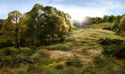 Woodland Scenics fs623 Static Grass Light Green 7 Mm Pour de paysage