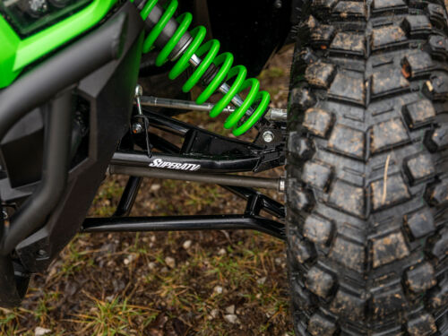 "SuperATV High Clearance 1.5/"" Offset A-Arms for Kawasaki Teryx KRX 1000 Black"