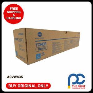 New & Original Konica Minolta A0VW435 Cyan Toner Cartridge TN612C