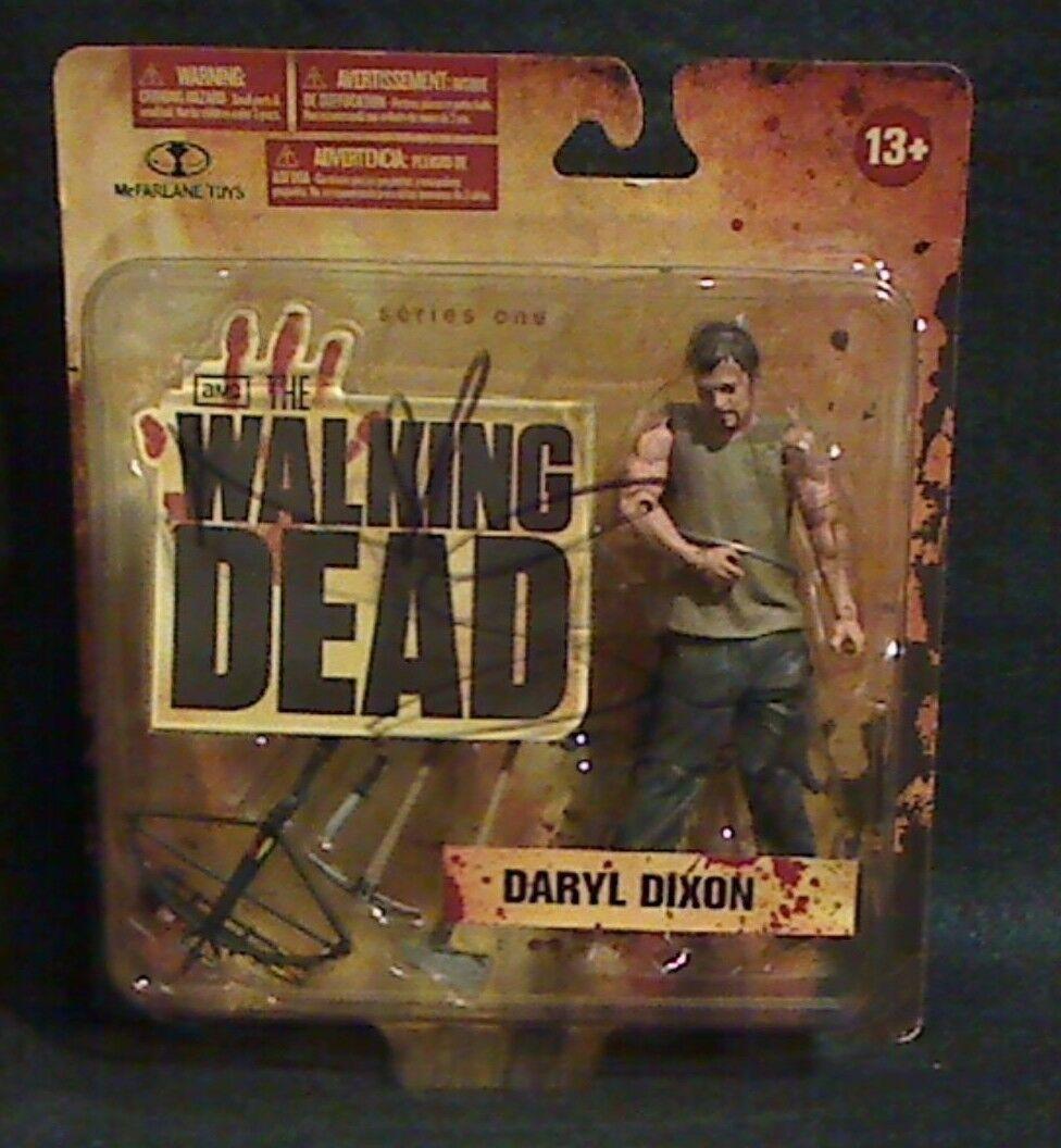 AMC THE WALKING DEAD 2018 Daryl Dixon firmado por Norman Reedus Beckett cert. de autenticidad