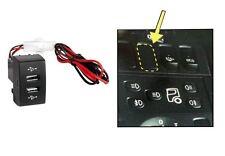 2fach Einbau-Steckdose USB-Ladegerät für SCANIA 12/24v 3000 mA max. LKW Stecker