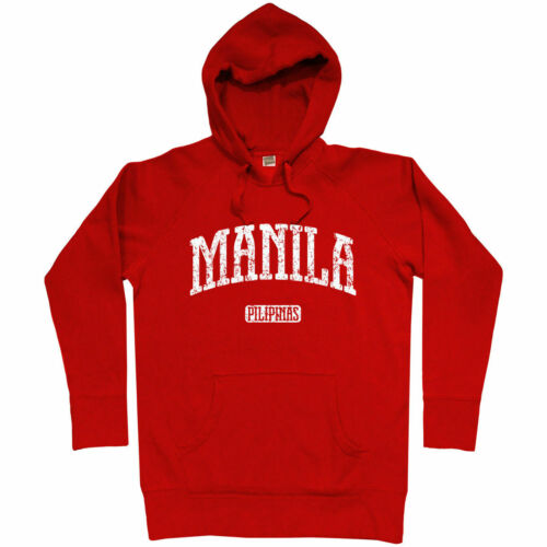 Manila Philippines Hoodie Men S-3XL Pilipinas Pinoy Tagalog Maynila Filipino