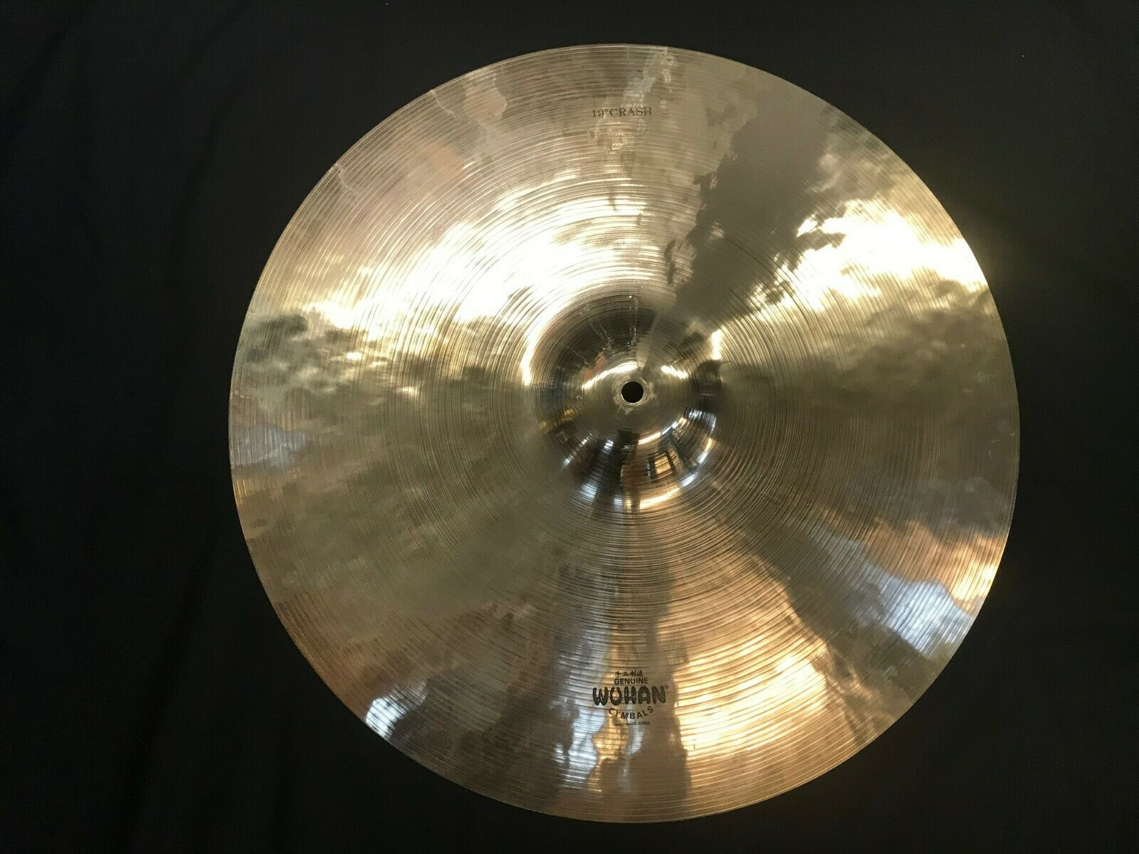 Wuhan 19  Crash cymbal B20   1396-1462 grams   NICE