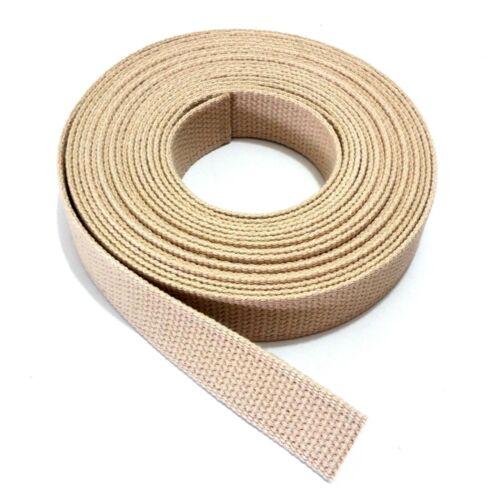 Taschengurt Gürtel Gurt Gurtband Baumwolle 30mm Taschenband Stoffgürtel Riemen