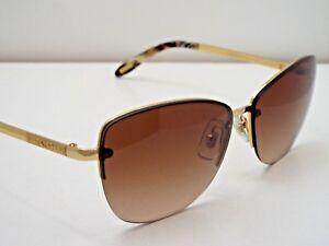 cf54ccf058f0 Authentic Ralph Lauren RA 4083 106/13 Gold Brown Gradient Sunglasses ...
