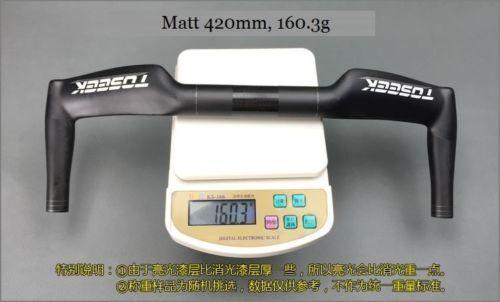 T800 Carbon Fiber Bike Handlebar Drop Bar 31.8mm for MTB Road Bike Racing
